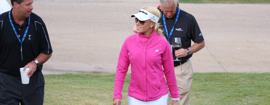 Natalie Gulbis Places at the North Texas LPGA Shootout